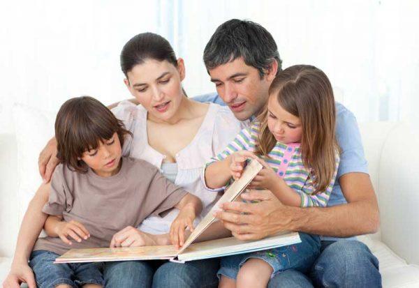 родители читают