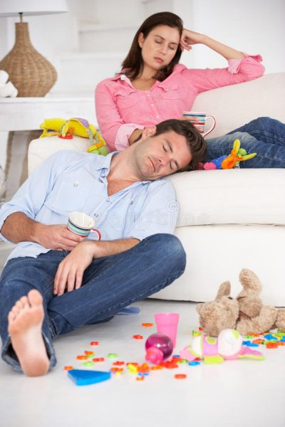 родители устали
