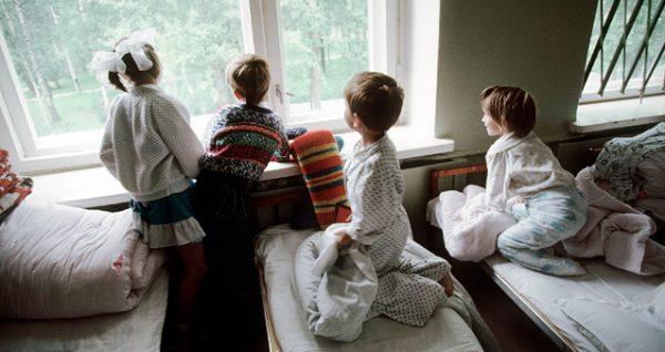 Дети в детском доме