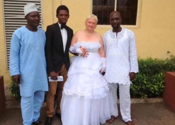 Африканская свадьба Натальи Ведениной