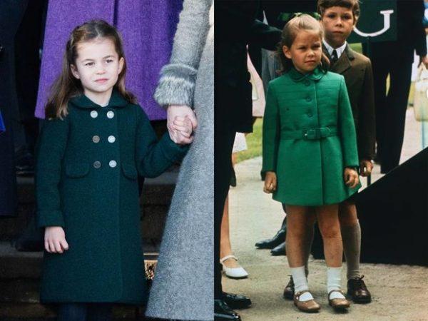 На кого больше похожа ее мини-Величество 5-летняя принцесса Шарлотта - на королеву или тетушку