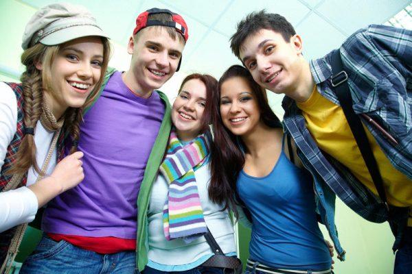 Счастливая молодежь