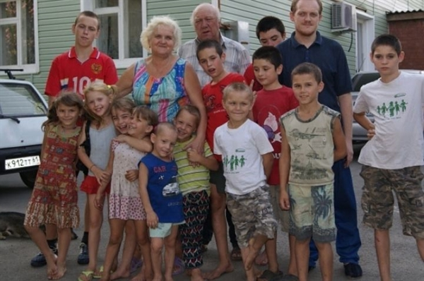 Младшие дети в семье Сорокиных