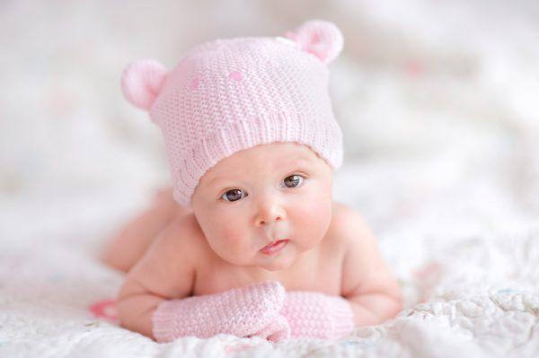 Нежное фото грудного ребенка