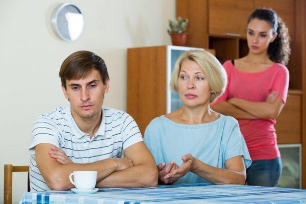 Конфликты с родственникам
