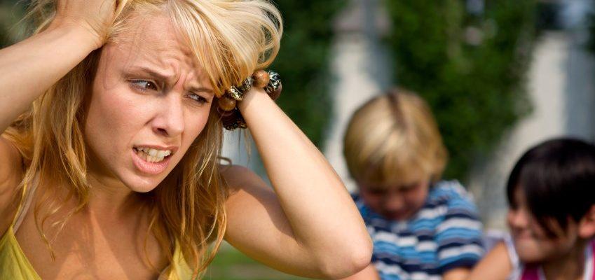Злость на детей