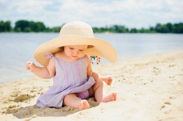 Как защитить детей от солнечных ожогов