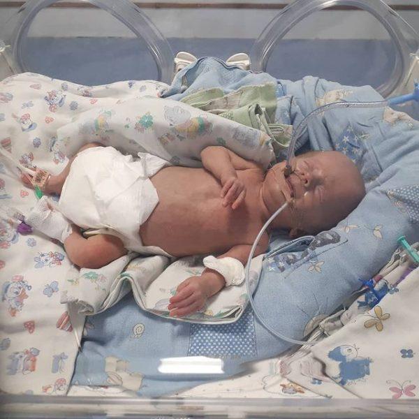 Тася после рождения