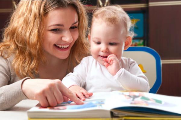 Чтение ребёнку
