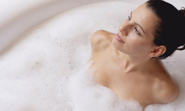 в ванне