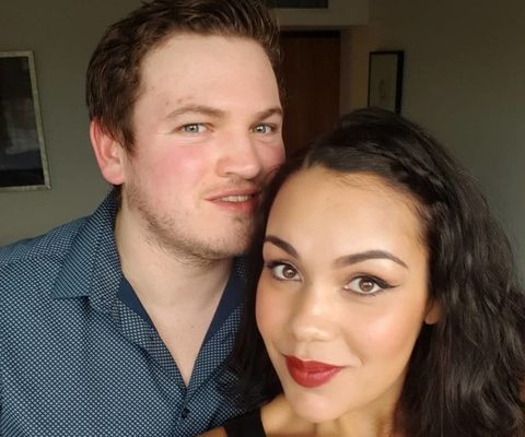 Аманда с мужем Томом. Фото@amandadawn_87