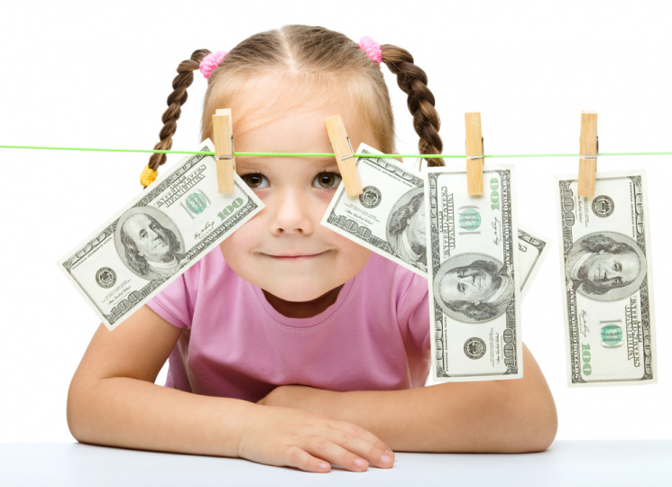 A child should know the value of money