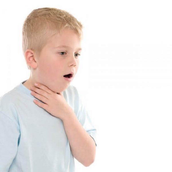 Ребенок задыхается
