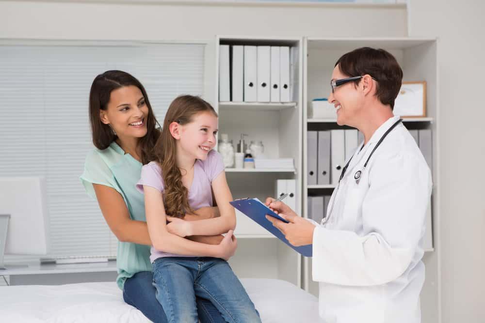 At the pediatrician