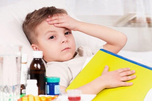 child and illness