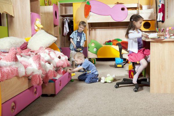одна комната для всех детей