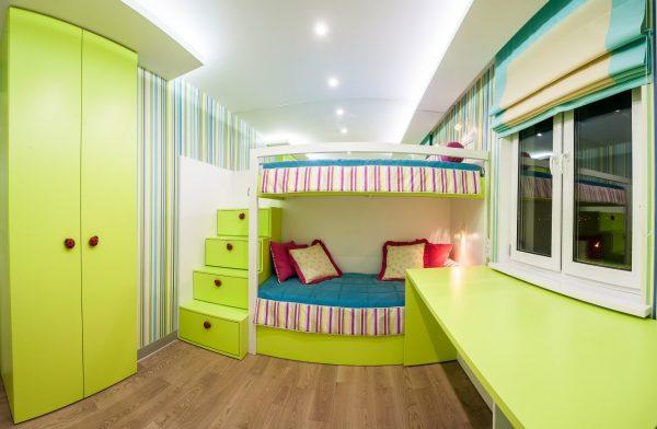 одна комната для двоих детей