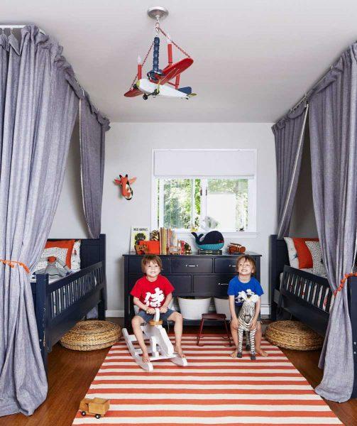комната для двоих детей