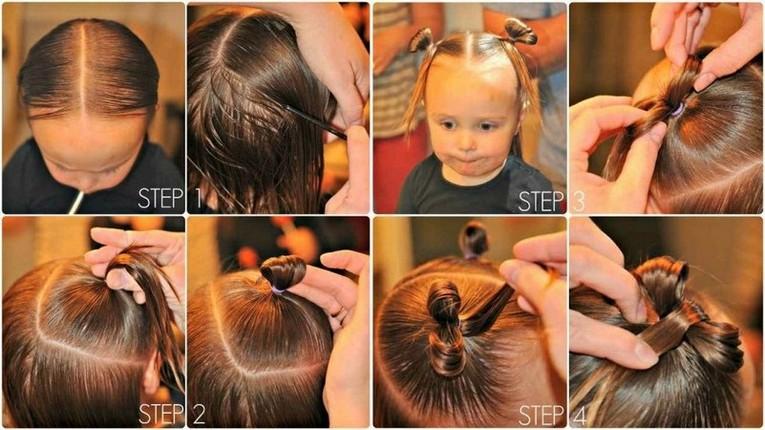 Hair bows detail