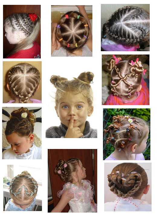 Kids and cool hairstyles