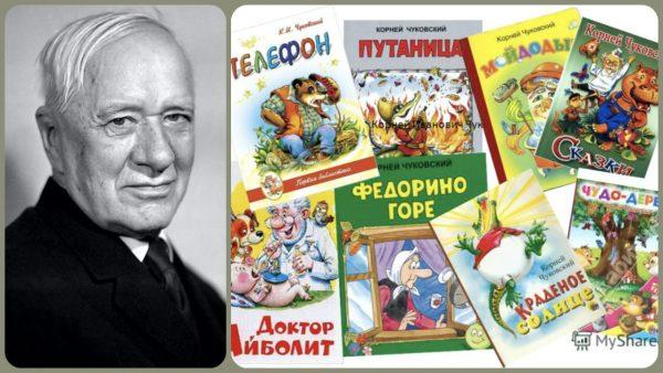 Корней Чуковский и его книги