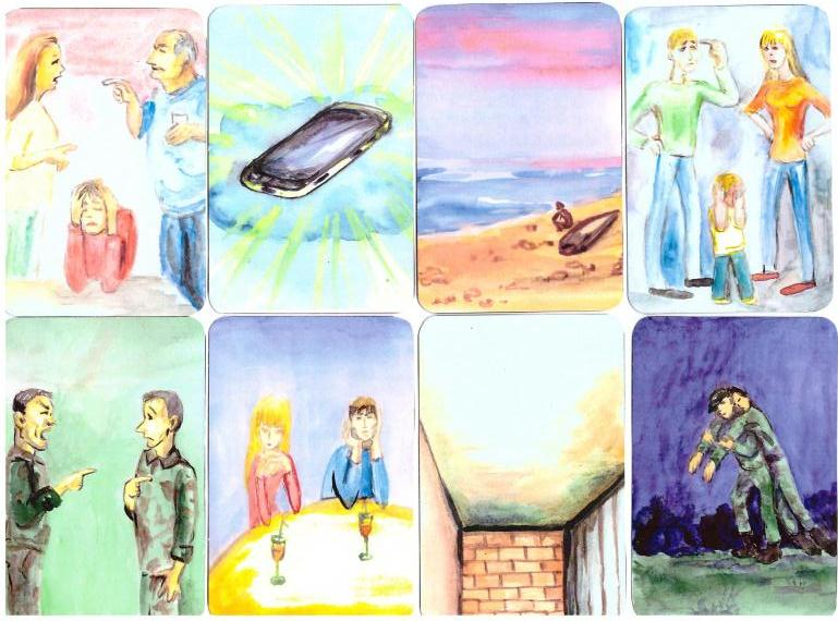 Metaphorical Association Cards