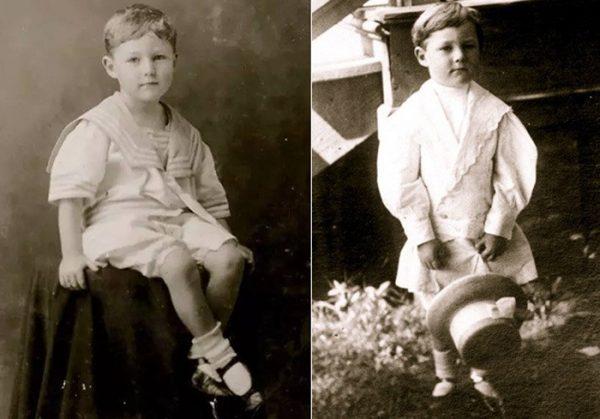 Бобби Данбар и мальчик, которого вернули родителям