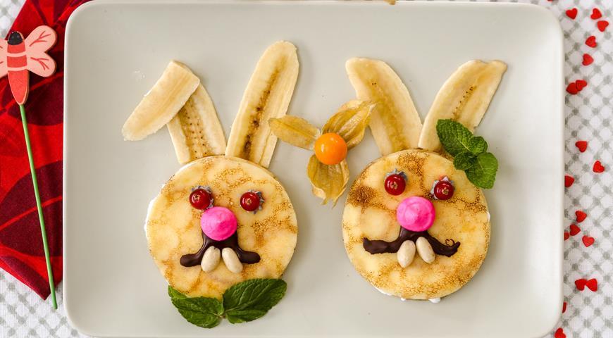 Pancakes Hares