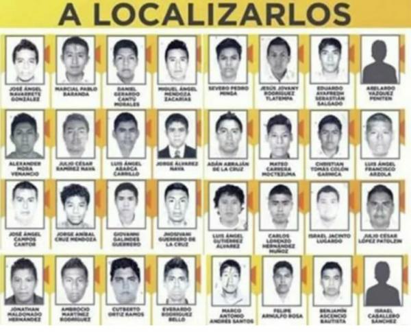 Пропавшие студенты в Мексике. Фото ТАСС