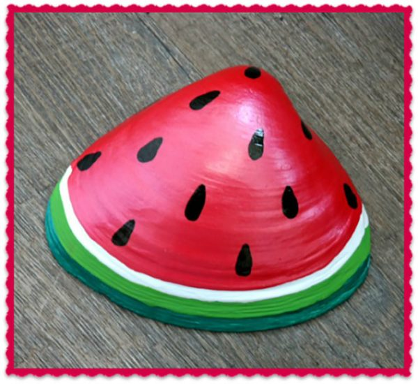 Shell watermelon