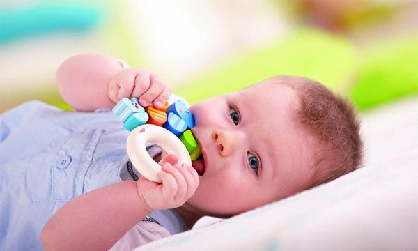 teether for baby