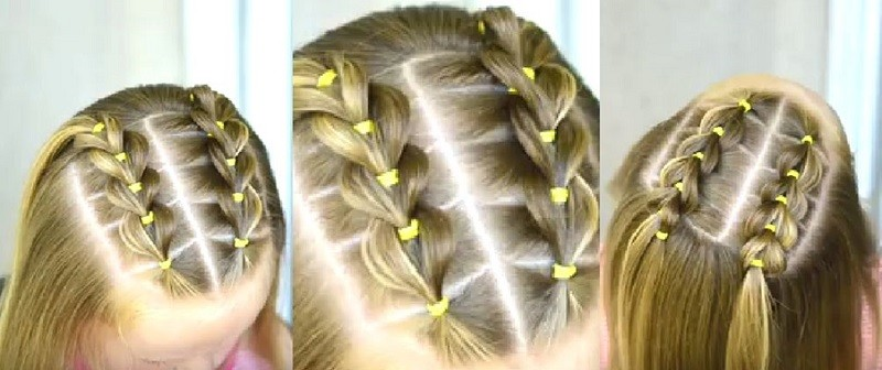 Two parallel braids