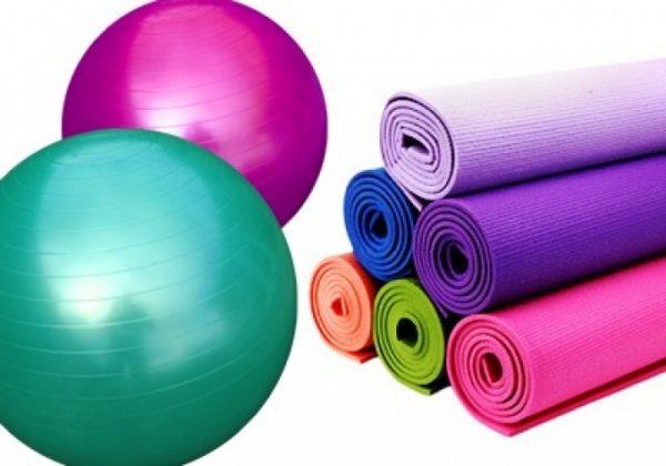 Коврики и гимнастические мячи