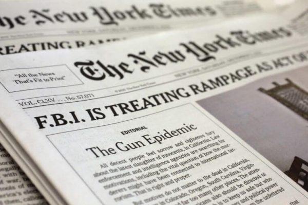 Газета The New York Times