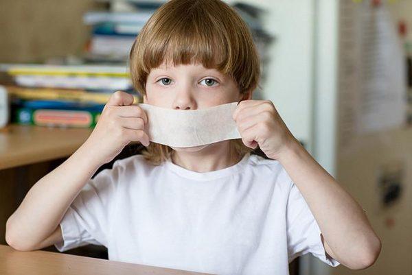 Как отучить ребенка ругаться. Фото