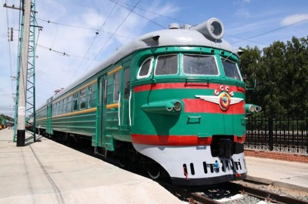 Советский поезд