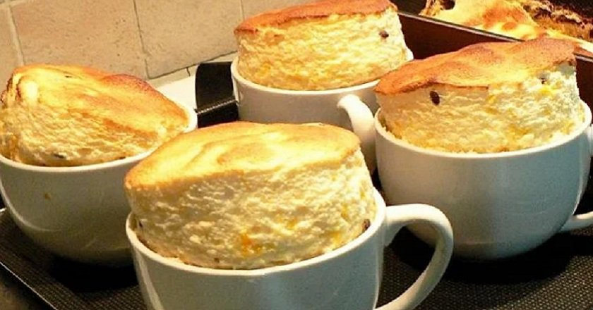 Chicken souffle in a slow cooker