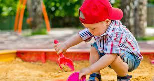 Child in the sandbox