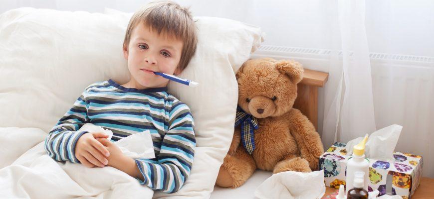 child is sick