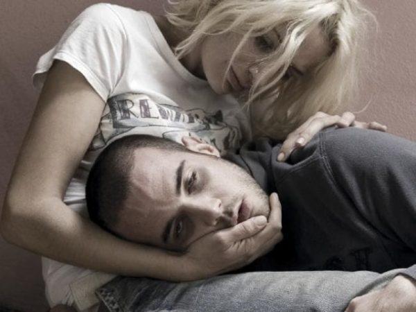 Жена с мужем-наркоманом
