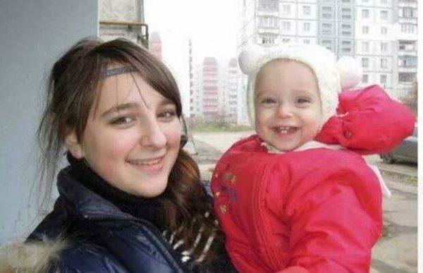 Надя Гнатюк с дочкой Мариной