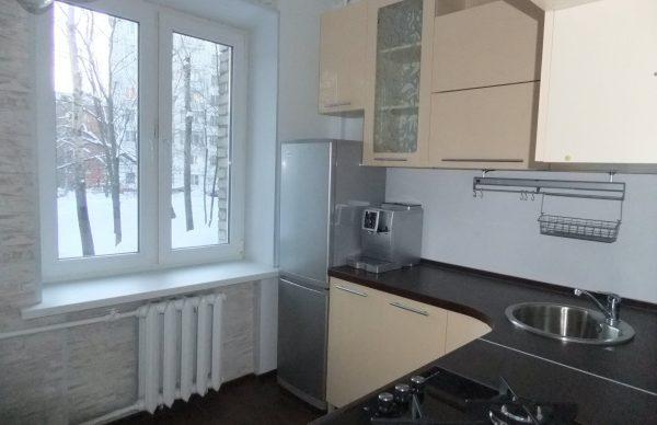 Холодильник Норд на кухне