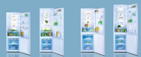 Двухкамерные холодильники Норд