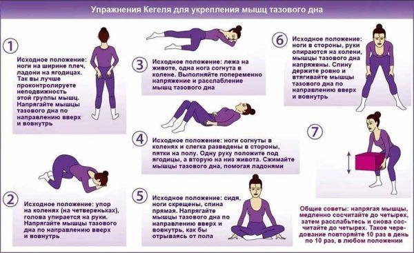 Упражнения при недержания. Фото domovei.com