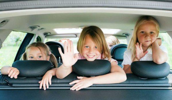 Путешествияе с детьми на автомобиле