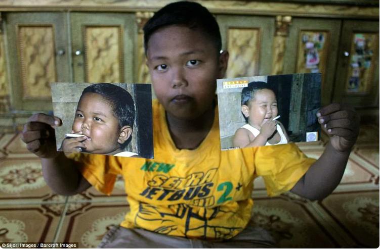 Алди Ризал в 9 лет