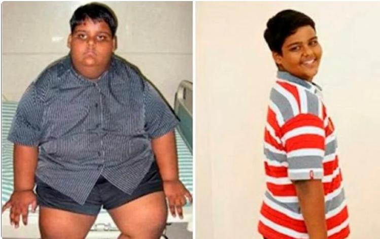 Арди Ризал до и после похудения