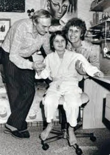 Саша Бузманн после освобождения. Фото