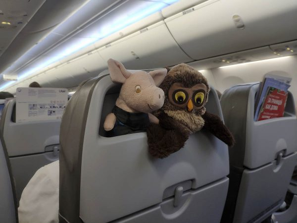 Игрушки в путешествии