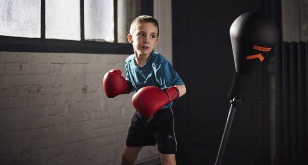 занятие боксом